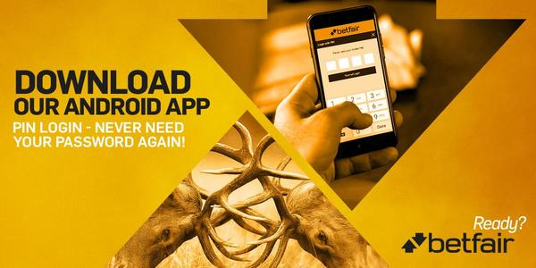 Betfair app for Android