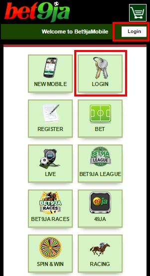 bet9ja login mobile