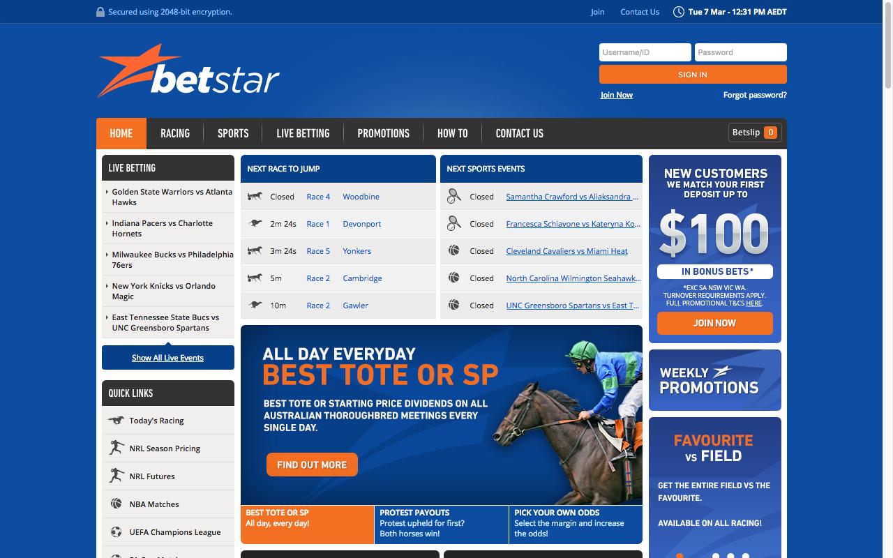 Sports betting: Betstars