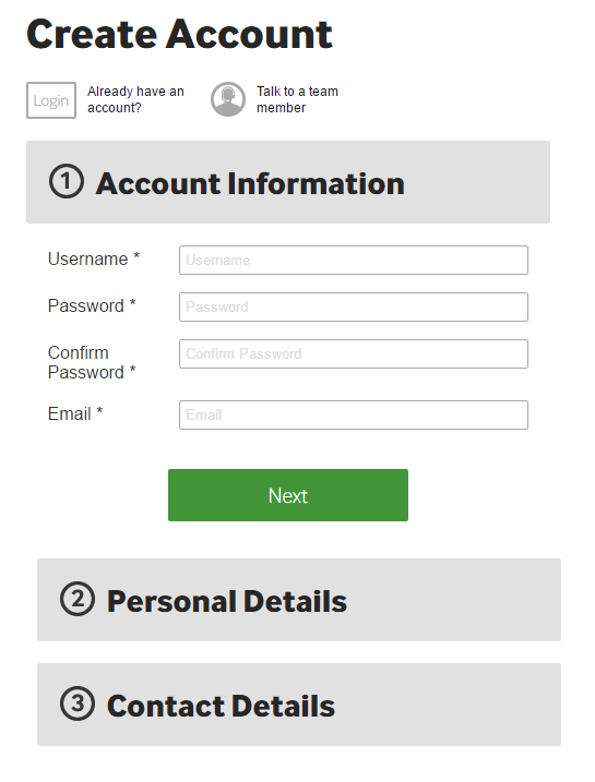 Betway registration official site