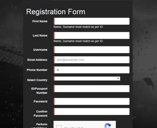Supabets Registration
